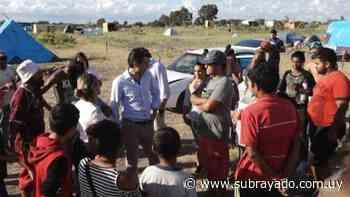 Senador Juan Sartori recorrió el asentamiento ubicado en Santa Catalina   Juan Sartori - Subrayado.com.uy