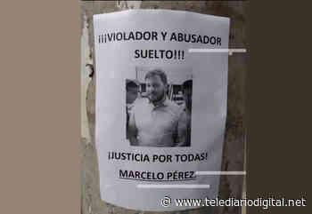 Cabrera amaneció empapelada con carteles contra Marcelo Pérez - Telediario Digital