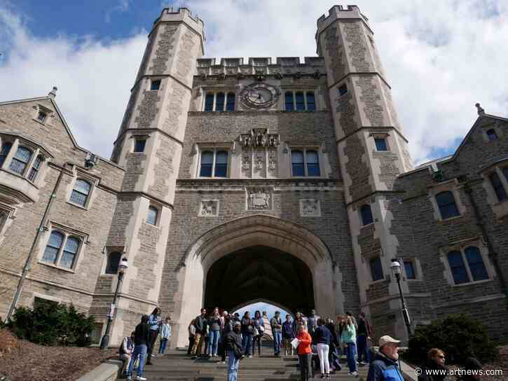 New York Collector Sues Princeton University After $1 M. Sale FallsThrough