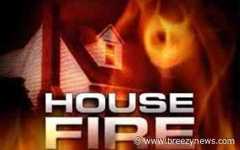 House Fire on 1022