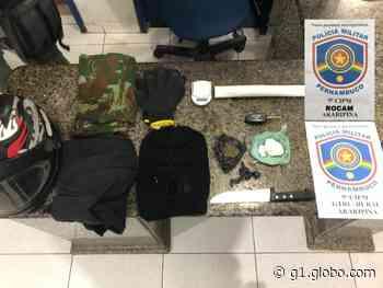 Veículos, drogas e munições são apreendidos pela Polícia Militar em Araripina - G1