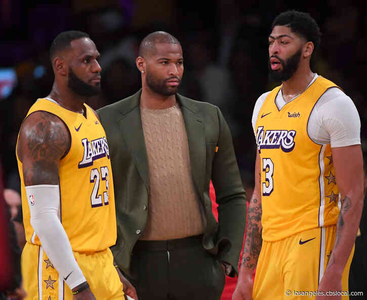 Lakers Waive Boogie Cousins; Clippers Matchup Rescheduled For April 9