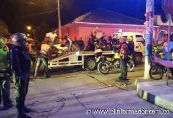 Hay restricción de motos en Ciénaga durante los carnavales - El Informador - Santa Marta