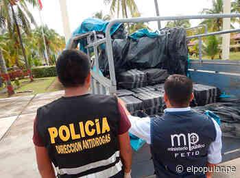 Los Sinchis de Mazamari incautan casi media tonelada de cocaína [FOTOS] - El Popular