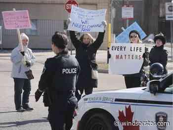 City hall demonstrators block traffic, demand action on homelessness