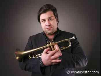 Dwight Adams, trumpeter for Stevie Wonder, plays Windsor's Phog Lounge
