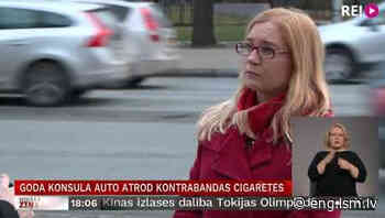 Latvia's not-so-Honorary Consul in Ukraine dragged from car full of contraband smokes - Eng.Lsm.lv