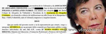 La abogada que 'cercó' a Willy Toledo denuncia a la ministra Isabel Celaá - Vozpópuli