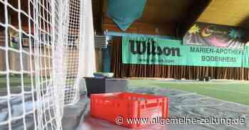 Verein muss Sanierung des Tennishallendachs in Bodenheim selbst stemmen - Allgemeine Zeitung