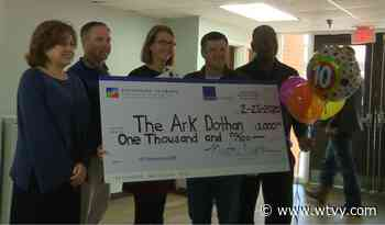 The Ark Dothan awarded $1000 surprise grant - WTVY, Dothan
