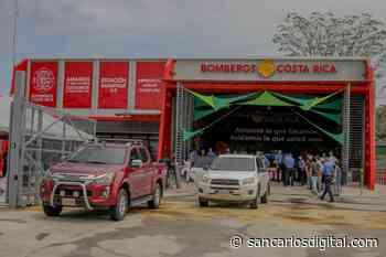 Vecinos de Sarapiquí estrenan moderna estación de Bomberos - San Carlos Digital