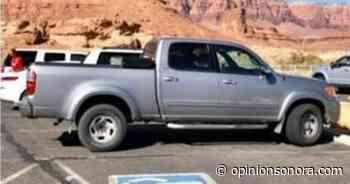 Ladrones desaparecen camioneta en San Carlos - Opinión Sonora