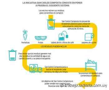 En la ciudad de San Carlos una iniciativa barrial busca reutilizar los residuos orgánicos - la diaria