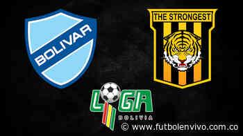Bolívar vs The Strongest en vivo y online: División Profesional - Fútbol en vivo