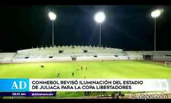 Juliaca alista estadio para recibir a River y Sao Paulo - Diario Depor