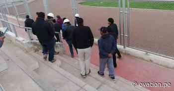 (FOTOS/VIDEO) CONMEBOL inspeccionó el Estadio Guillermo Briceño - ovacion.pe