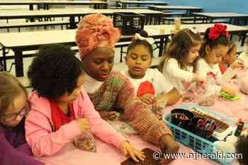 Kindergarteners spread love for Valentine's Day - New Jersey Herald