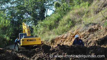 Cierre de vía El Crucero de Calarcá por inicio de obras de demolición - La Cronica del Quindio