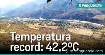 Temperatura récord: Así es vivir a 42,2 grados en Capitanejo, Santander - Vanguardia