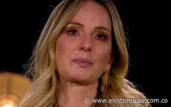 Claudia Bahamón lloró al hablar de su padre - El Informador - Santa Marta