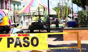 Cierre de calles en Oxkutzcab - El Diario de Yucatán