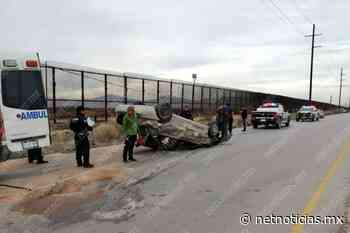 Vuelca automóvil en carretera a San Jerónimo - Netnoticias