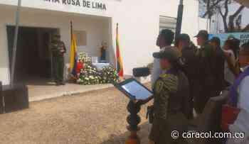 Policía de Cartagena reconoce labor de subintendente fallecido - Caracol Radio