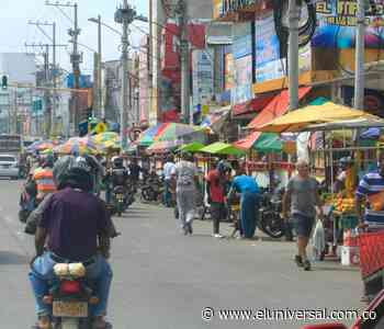Las ventas informales tienen saturados varios espacios públicos - El Universal - Colombia