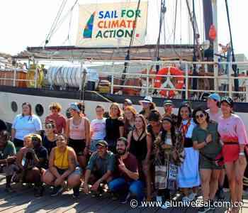 Jóvenes navegarán desde Cartagena hasta Europa para hablar de crisis climática - El Universal - Colombia