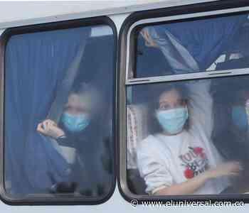 Evacuados de China por coronavirus fueron apedreados en Ucrania - El Universal - Colombia