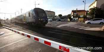 Deux morts dans une collision entre un scooter et un train à un passage à niveau à Salon-de-Provence