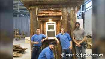 Inmates at Stony Mountain Institution create Festival du Voyageur parking kiosk - CTV News