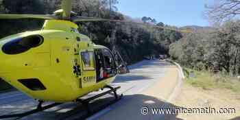 Un jeune motard chute et se blesse gravement à La Garde-Freinet