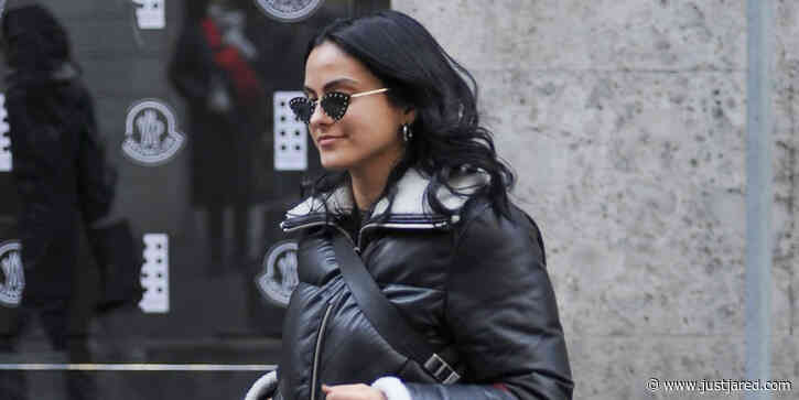 Camila Mendes Picks Up New Things From Ferragamo During Milan Fashion Week