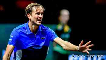 Medvedev loses to Simon in Open 13