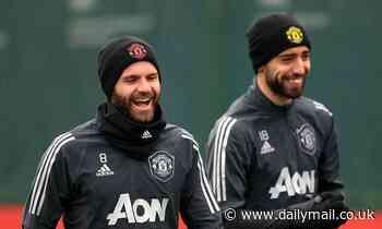 Man United: Juan Mata hails Bruno Fernandes and backs Odion Ighalo to 'score many goals'