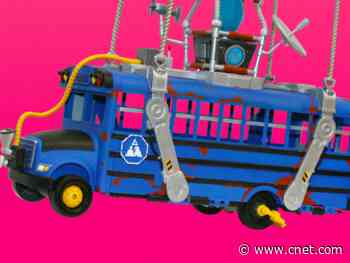Fortnite Deluxe Battle Bus lets you recreate the Season 2 opener     - CNET