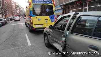 Herida una mujer en un choque en Cardenal Cisneros en el que el otro vehículo se dio a la fuga - Tribuna Valladolid