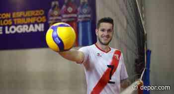 ¡Nuevos aires! Voleibolista peruano Eduardo Romay jugará en el Cisneros Alter de España - Diario Depor