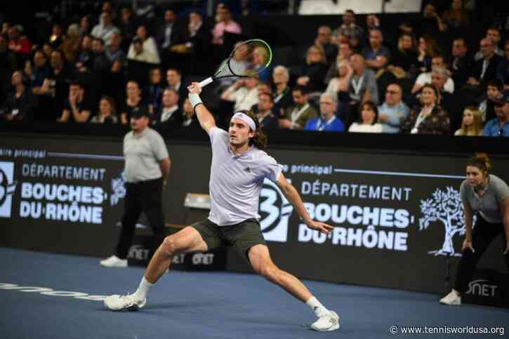 ATP Marseille: Stefanos Tsitsipas downs Vasek Pospisil. Denis Shapovalov bows out