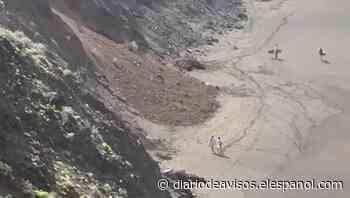 Cierran la playa de El Arenal, en Tenerife, tras el derrumbe de un talud - Diario de Avisos