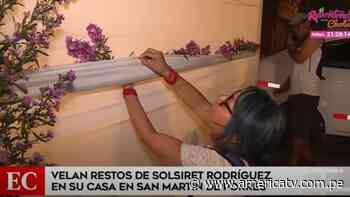 Solsiret Rodríguez: Familiares y amigos velan sus restos en San Martín de Porres - América Televisión