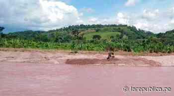 San Martín: ejecutan trabajos de descolmatación del río Tulumayo - LaRepública.pe