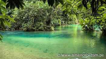 ¿Cómo llegar a estas pozas de agua turquesa en la selva peruana? - América Televisión