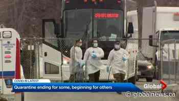 Latest COVID-19 evacuees arrive at CFB Trenton