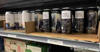 Local beer and local art make a perfect combo for Winnipeg couple