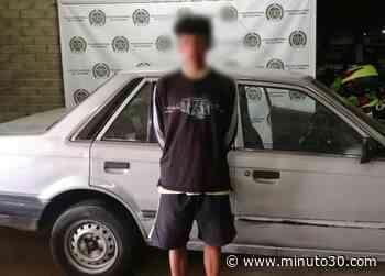 FOTOS: ¡Tan Pinchados! Capturados en Belén con vehículos robados - Minuto30.com