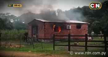 Hombre incendia casa de su expareja en Villeta - Resumen de Noticias
