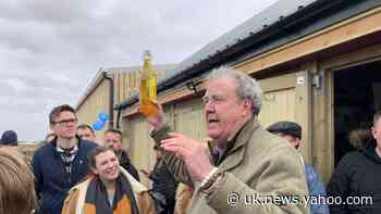 Jeremy Clarkson throws open doors to his farm shop