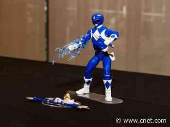 Blue Power Ranger Billy Cranston, Ranger Slayer join Lightning Collection     - CNET
